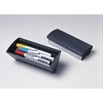 Magnetyczna gąbka do tablic suchościeralnych - pojemnik na markery