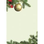 Dekoracyjny papier A4 z motywem świątecznym - 50 arkuszy