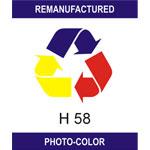 Etykiety HP 58