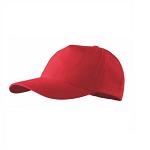 Czapka z daszkiem (bejsbolówka) do nadruku - czerwona