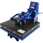 Blue Press 38x38 - prasa transferowa do powierzchni płaskich, otwieranie automatyczne