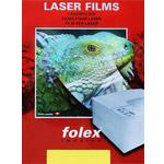 Biała dwustronna folia poliestrowa do kolorowych drukarek laserowych BG-72 WO - 50 arkuszy