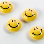 Magnesy kuliste - buźka uśmiechnięta