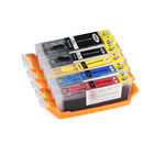 Set of edible cartridges Canon CLI 571 / PGI 570