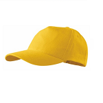 Czapka z daszkiem (bejsbolówka) do nadruku - żółta