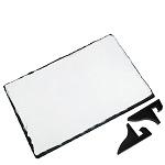 Prostokątna płyta kamienna do sublimacji - 19 x 14 cm