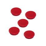 Okrągłe magnesy neodymowe - czerwone