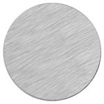 Srebrny, matowy krążek metalowy do sublimacji - 50 sztuk