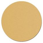 Złoty, matowy krążek metalowy do sublimacji - 50 sztuk