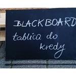 Kredowa folia tablicowa - czarna
