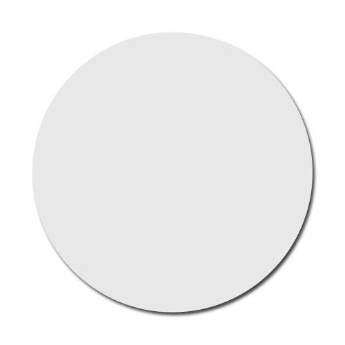 Biały, błyszczący krążek metalowy do sublimacji - 50 sztuk
