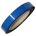 Pasek magnetyczny suchościeralny niebieski