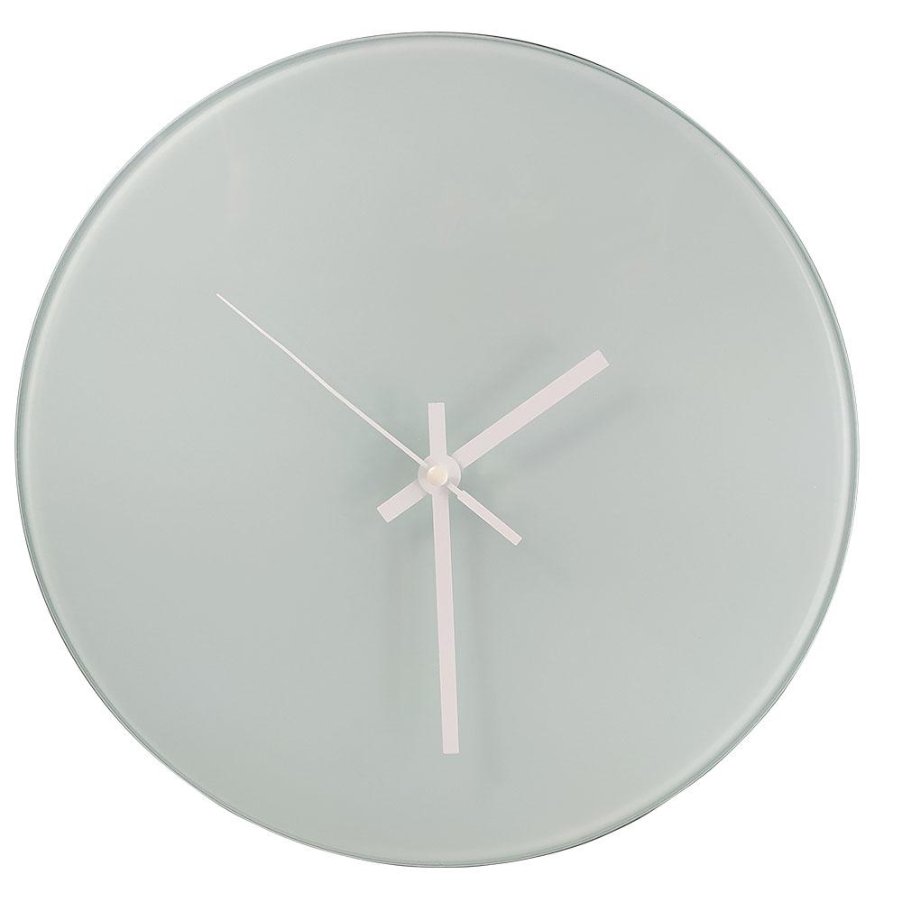Zegar szklany do sublimacji - 31 cm