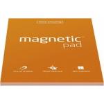 Elektrostatycznie przylegające arkusze na notatki magnetic PAD - pomarańczowy