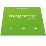 Elektrostatyczne suchościeralne arkusze na notatki magnetic PAD - zielone
