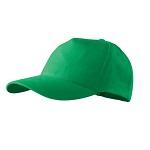 Czapka z daszkiem (bejsbolówka) do nadruku - zielona