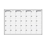 Tablica suchościeralna magnetyczna do planowania miesiąca