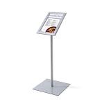 Zewnętrzny stojak na menu z podświetleniem LED i zamkiem na kluczyk (format A4)
