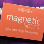 Elektrostatyczne suchościeralne karteczki na notatki - różowe pastelowe