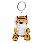 Brelok pluszak tygrys z koszulką do sublimacji
