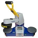 Roundlabel - prasa transferowa do powierzchni płaskich, otwieranie automatyczne
