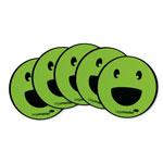 Magnesy okrągłe - buźka uśmiechnięta