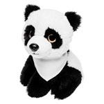 Pluszowa panda z białą chustą do sublimacji