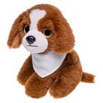 Pluszowy pies z białą chustą do sublimacji