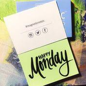 Elektrostatyczne suchościeralne karteczki na notatki - zielone pastelowe
