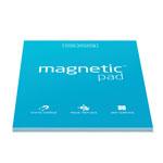 Elektrostatyczne suchościeralne arkusze na notatki magnetic PAD - niebieskie