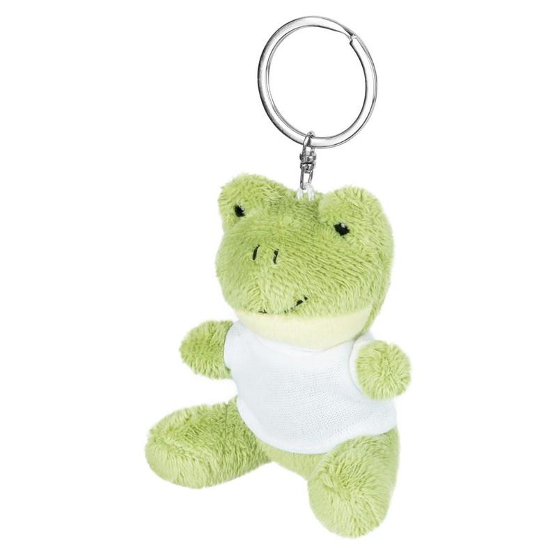 Brelok pluszak żaba z koszulką do sublimacji