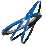 Pasek magnetyczny niebieski