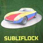 Folia Flock do sublimacji Subliflock - 10 arkuszy