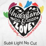 Subli Light No Cut - papier transferowy A4 do sublimacji na bawełnę - 10 arkuszy