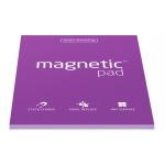 Elektrostatyczne suchościeralne arkusze na notatki magnetic PAD - fioletowy