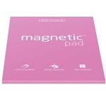 Elektrostatyczne suchościeralne arkusze na notatki magnetic PAD - różowy