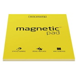 Elektrostatyczne suchościeralne arkusze na notatki magnetic PAD - żółty