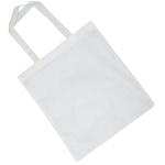 Biała torba ekologiczna na zakupy do sublimacji