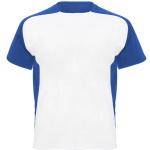 Koszulka do sublimacji z kolorowymi panelami bocznymi i rękawami