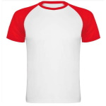 Koszulka do sublimacji z kolorowymi rękawami