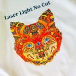 Laser Light No Cut - papier transferowy do drukarek z białym tonerem na jasne tkaniny - 10 arkuszy