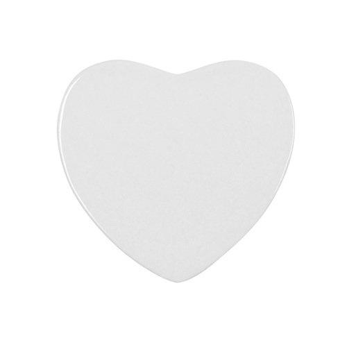 Magnes ceramiczny w kształcie serca do sublimacji