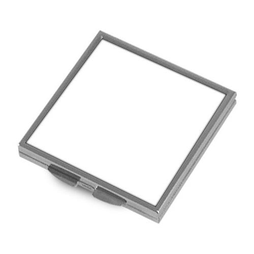 Metalowe lusterko do sublimacji - kwadratowe