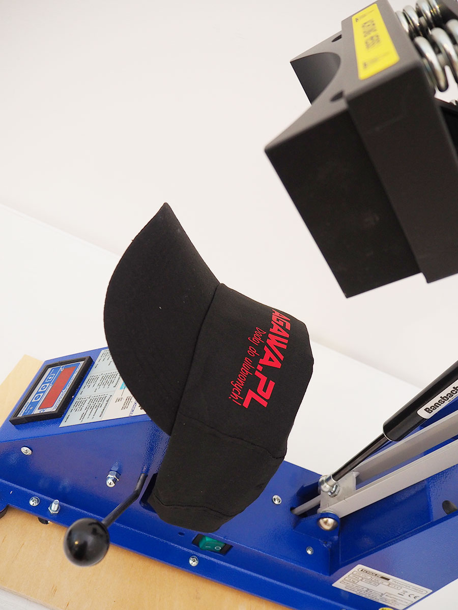 BluePressLine CAP - prasa transferowa do czapek
