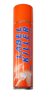 Spray do usuwania etykiet - Label Killer