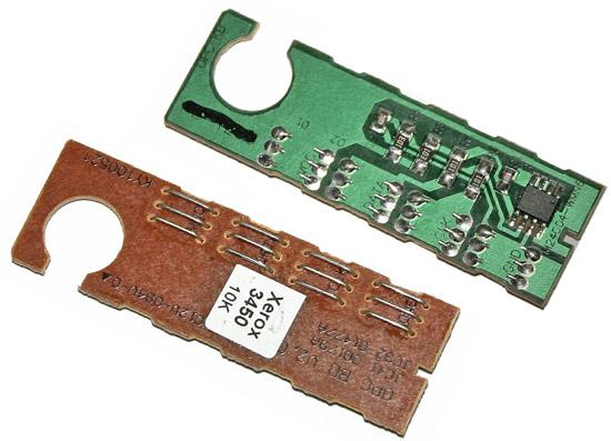 Chip zliczający Xerox Phaser 3450