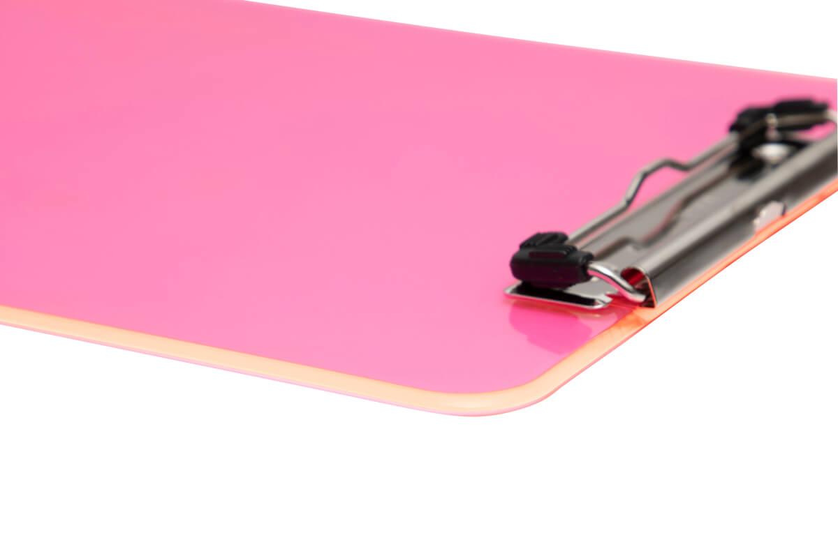 Clipboard plastikowy przezroczysty MAULneon