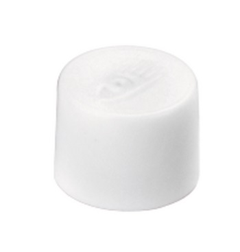 Magnesy okrągłe białe