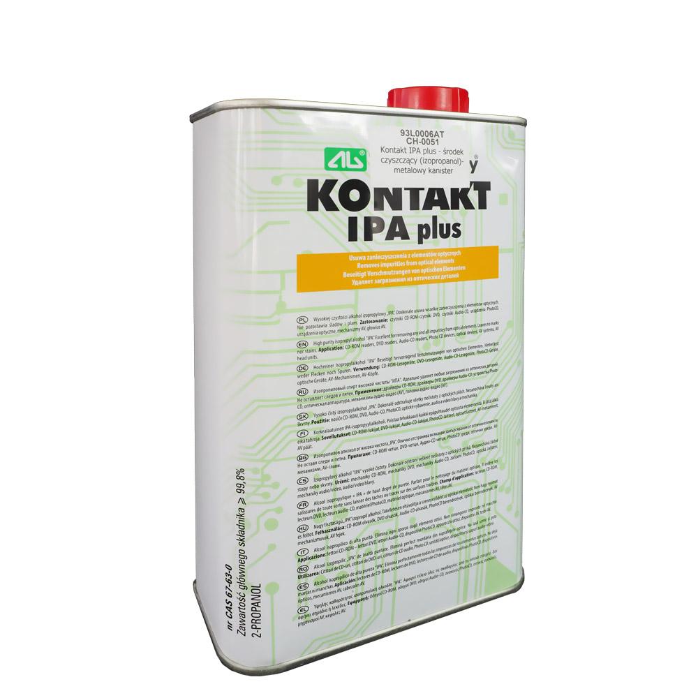 Alkohol izopropylowy (IPA) - środek czyszczący (izopropanol)