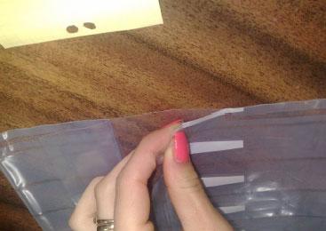 Opakowanie powietrzne typu air bag na kasety laserowe (L)